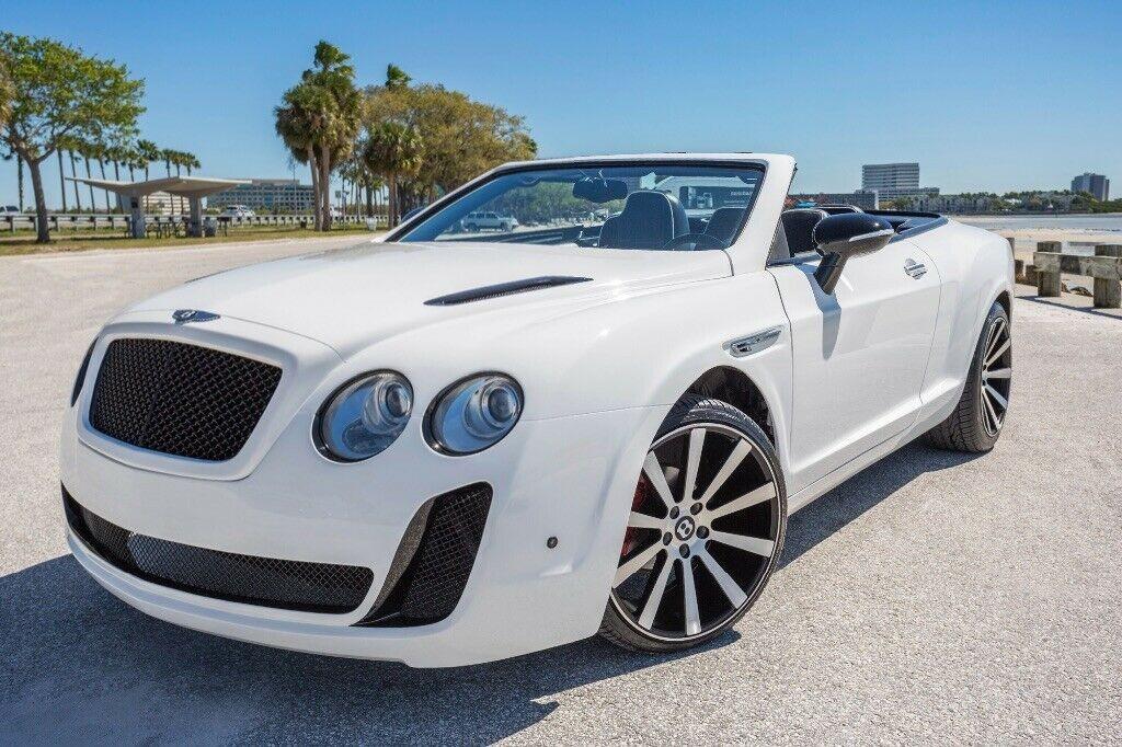Diện mạo của chiếc Bentley Continental GTC 2015 nhái được đăng bán trên eBay