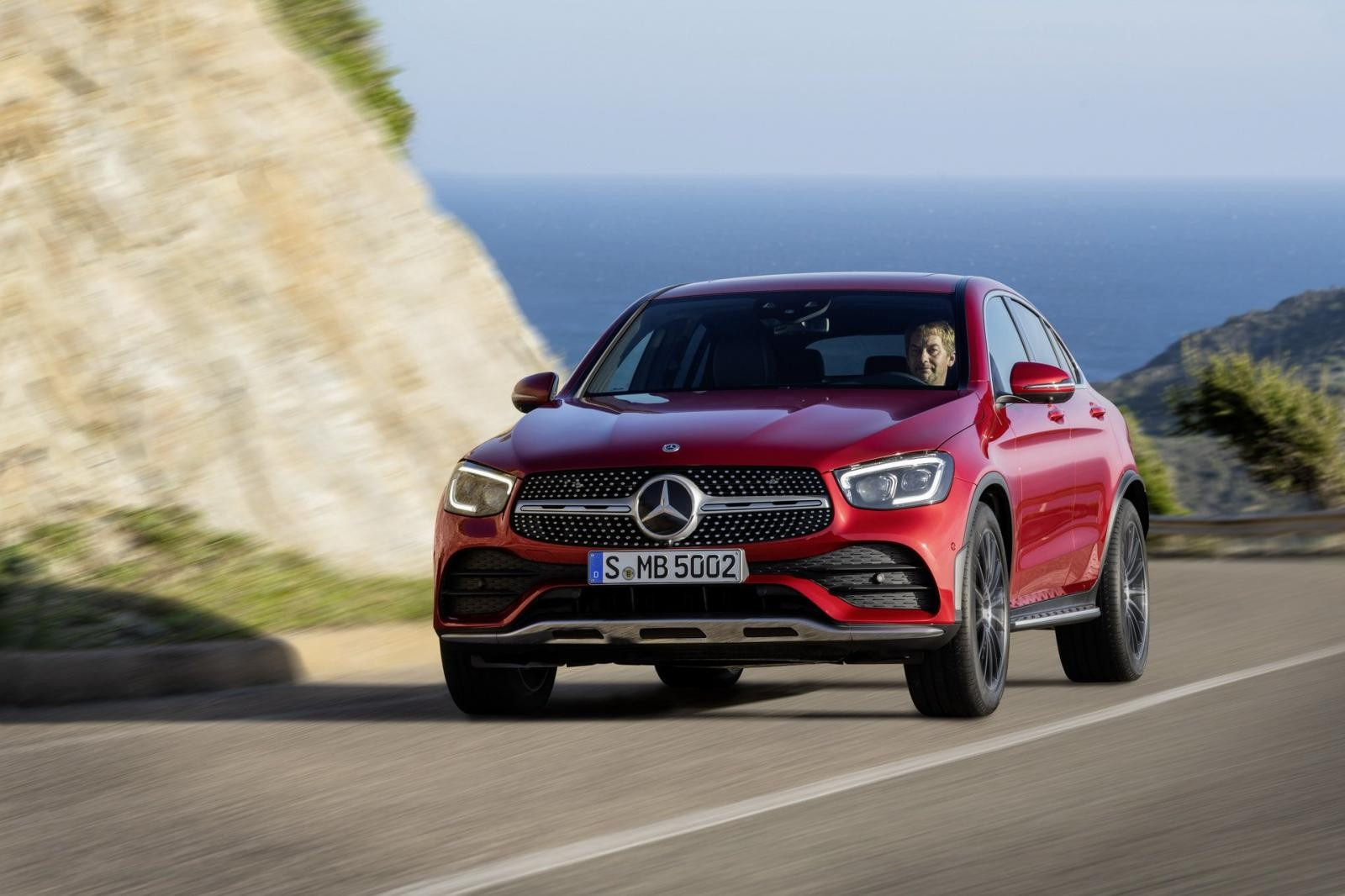 Mercedes-Benz GLC Coupe 2020 ra mắt
