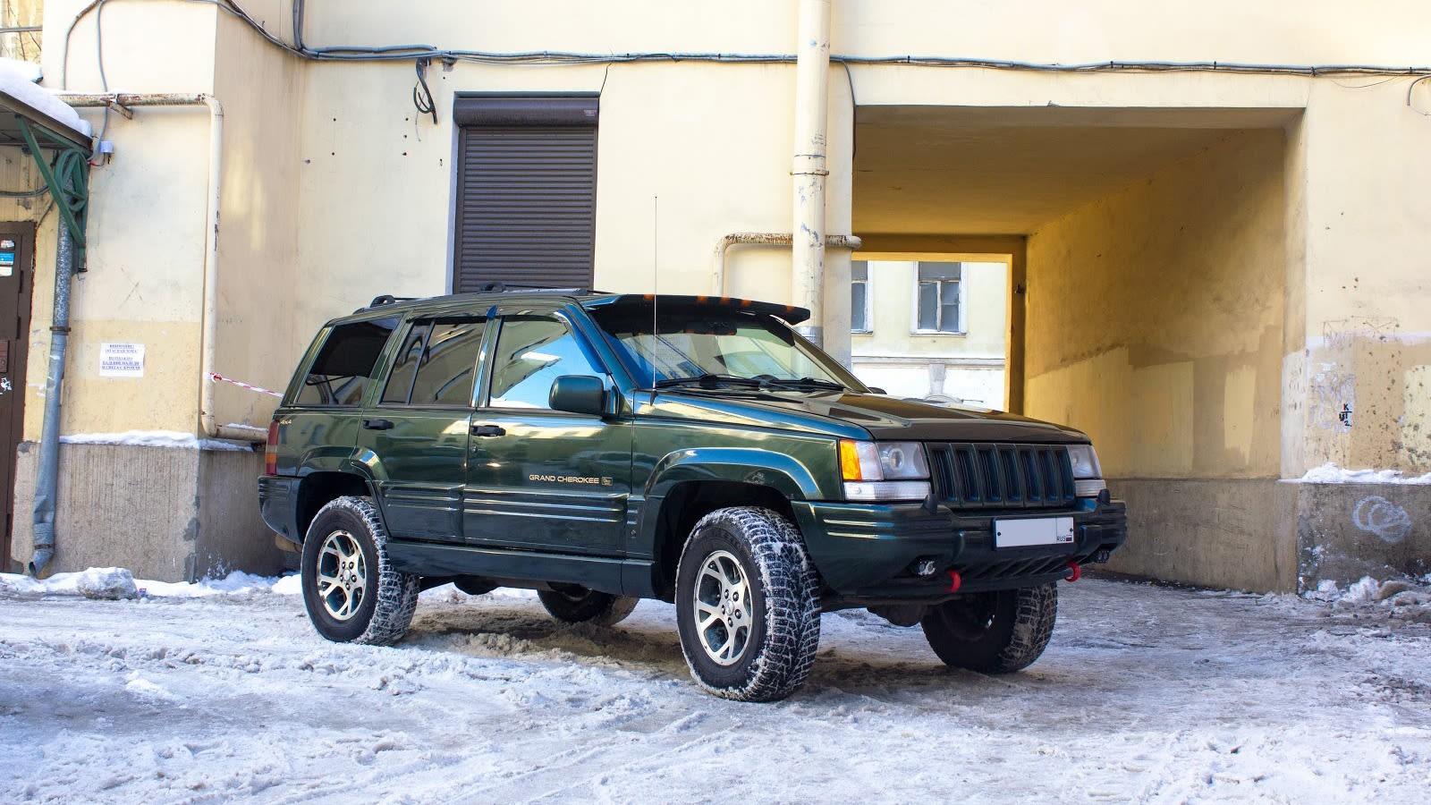 Chiếc Jeep Grand Cherokee ZJ 1996 của Oleg