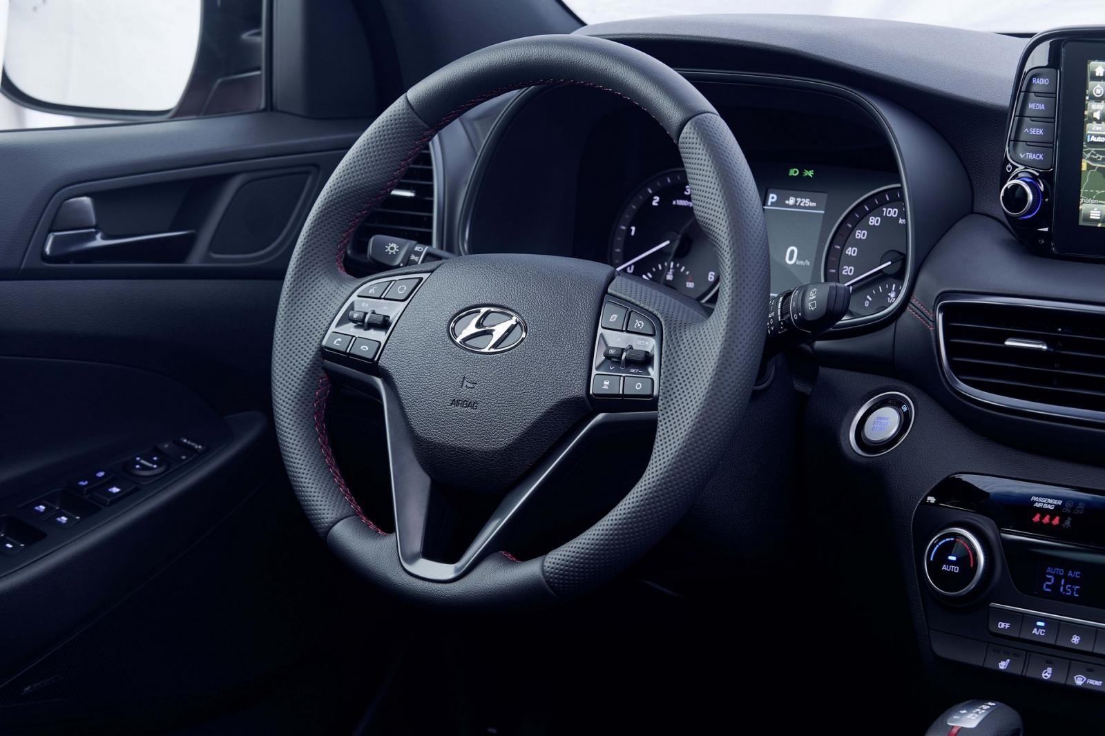 Hyundai Tucson N Line có hệ thống âm thanh Krell tiêu chuẩn