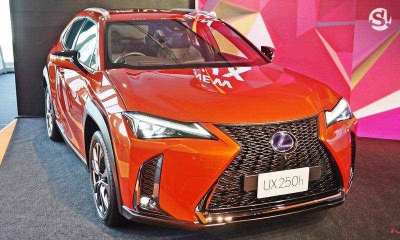 Lexus UX 2019 ra mắt thị trường Thái Lan