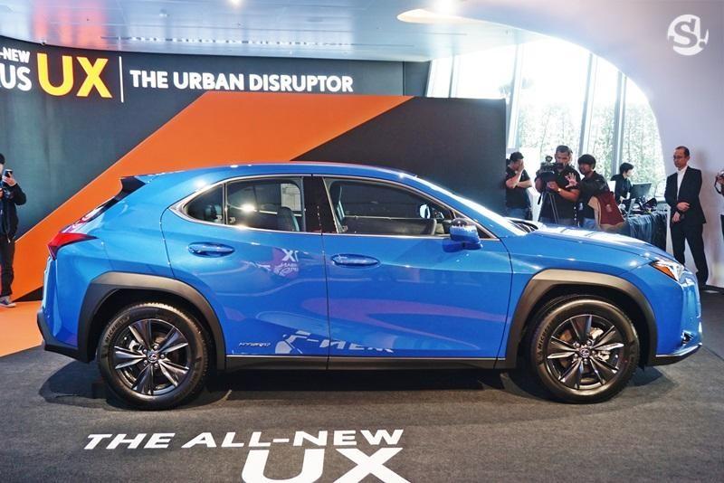 UX 2019 là mẫu SUV nhỏ nhất của thương hiệu Lexus