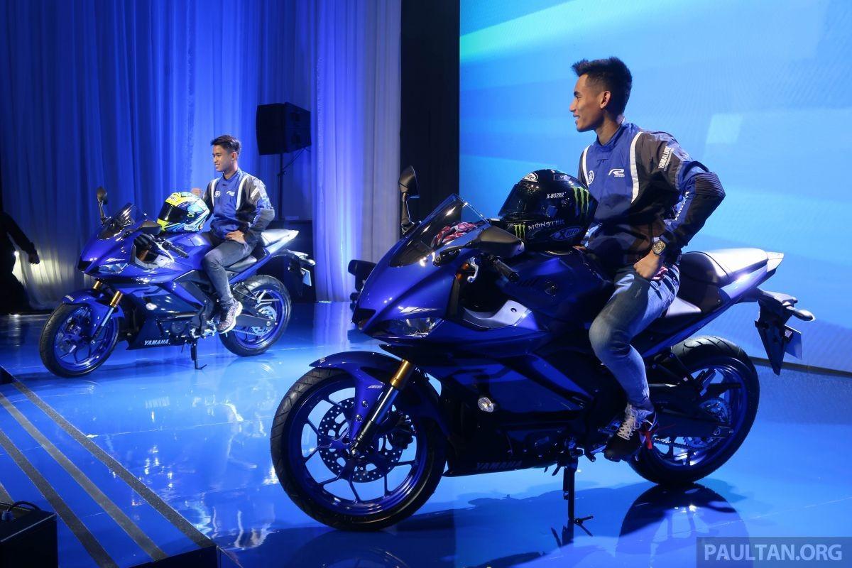 Yamaha R25 2019 ra mắt tại Malaysia