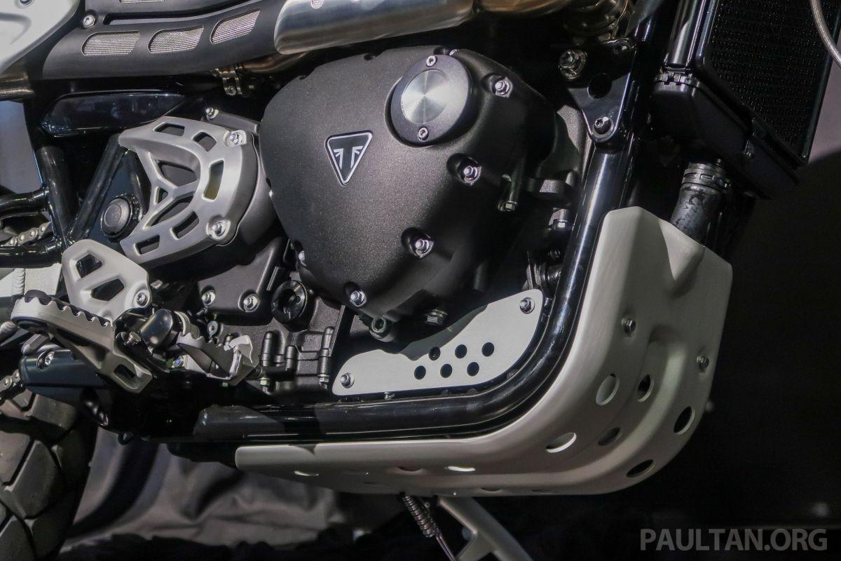 Động cơ xylanh đôi, dung tích 1.200 cc trên Triumph Scrambler 1200 2019