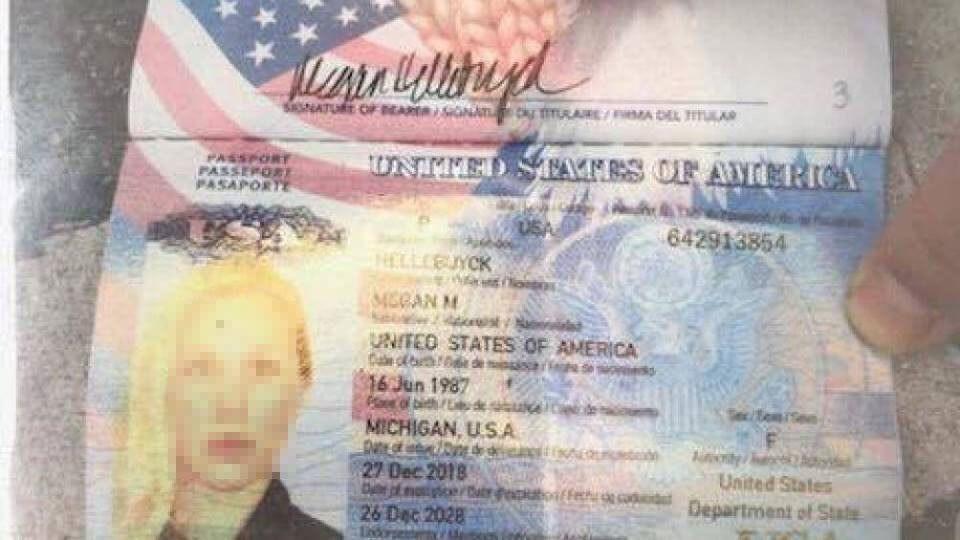 Theo một số thông tin, cô gái mang quốc tịch Mỹ