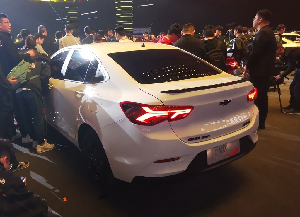 Thiết kế đuôi xe của Chevrolet Onix 2019