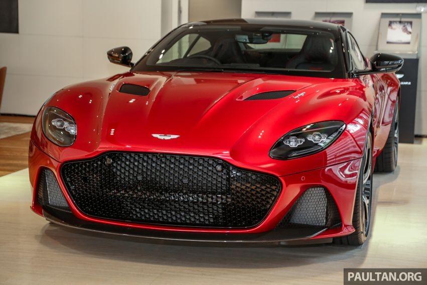 Siêu xe Aston Martin DBS Superleggera 2019 mới ra mắt chính hãng giới nhà giàu Malaysia