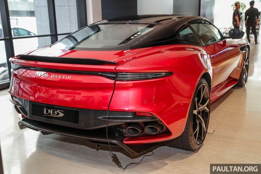 Ước tính hết năm 2019, sẽ có 20 chiếc Aston Martin DBS Superleggera 2019 tìm thấy chủ nhân tại Malaysia