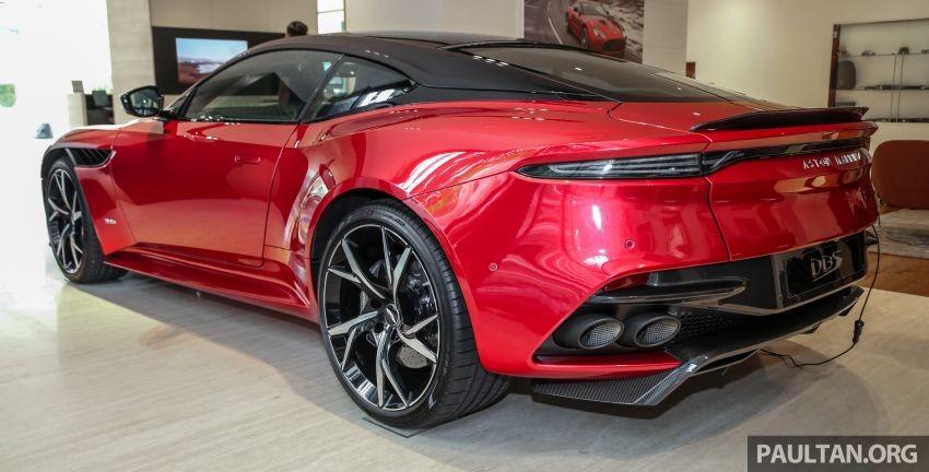 Siêu xe Aston Martin DBS Superleggera 2019 chính là mẫu xe mạnh nhất của Aston Martin tính đến thời điểm hiện tại.