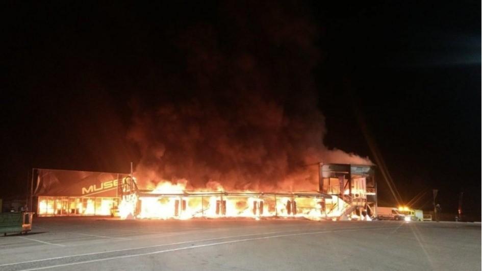 Vụ cháy nhà chứa xe mô tô điện Energica Ego tại trường đua Jerez xảy ra vào đêm ngày 14/3 vừa qua