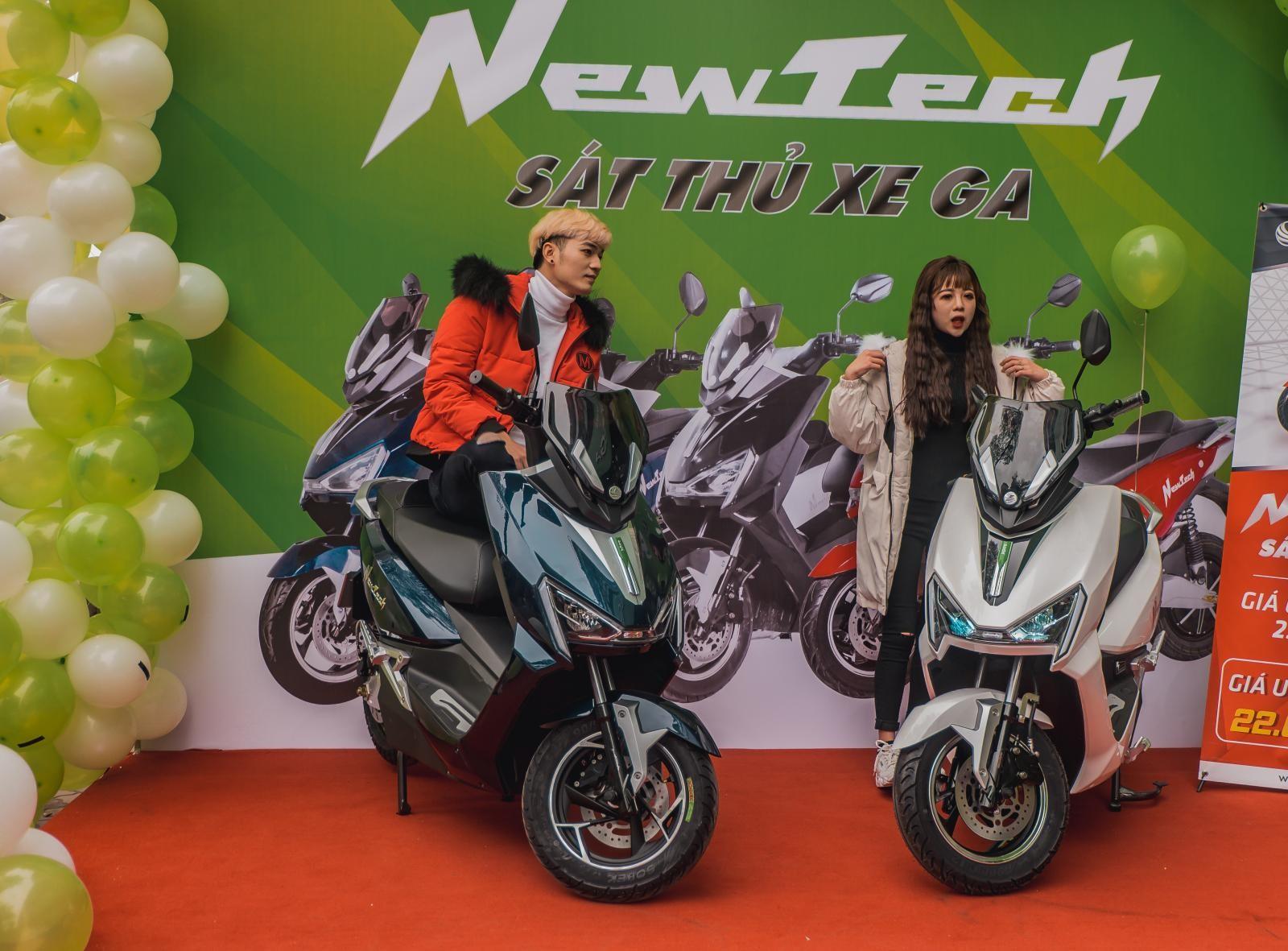 Những chiếc xe máy điện NewTech được cho là có khả năng thay thế xe tay ga