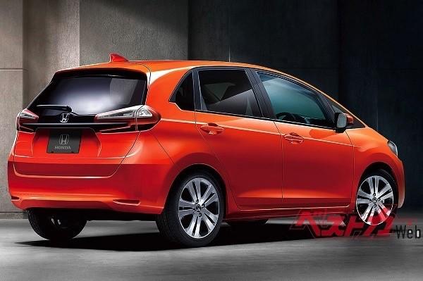 Hình ảnh phác họa của Honda Jazz 2020