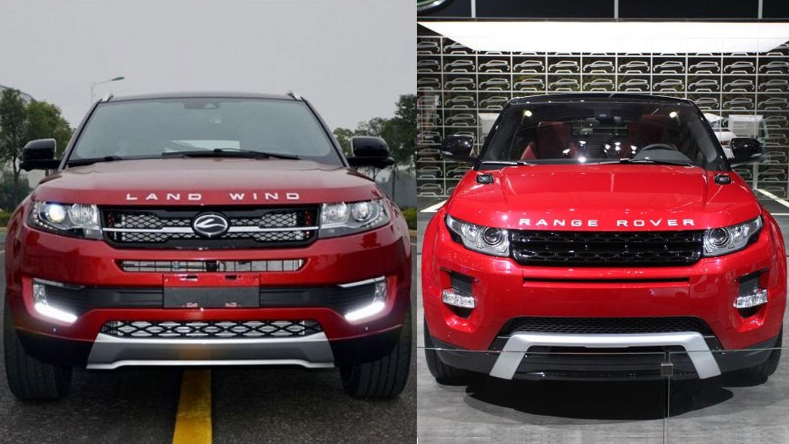 Landwind X7 và Range Rover Evoque