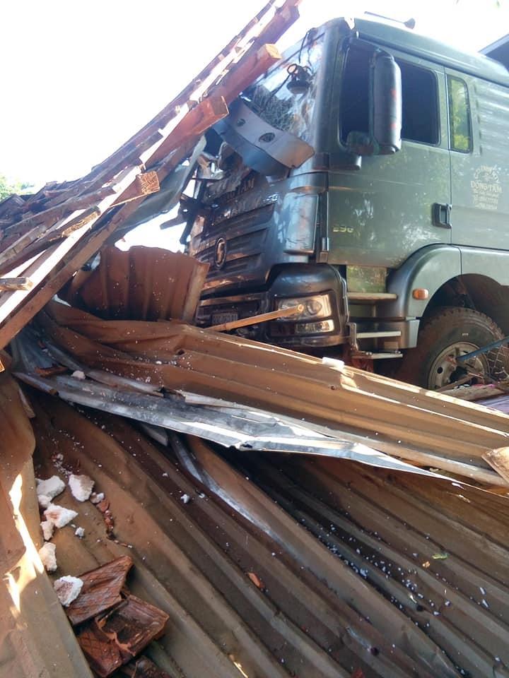 Vụ tai nạn đã khiến 2 vợ chồng đang ngủ trong nhà tử vong tại chỗ
