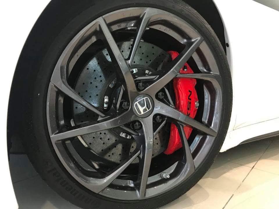 Bộ mâm của Honda NSX 2018 tại Thái Lan
