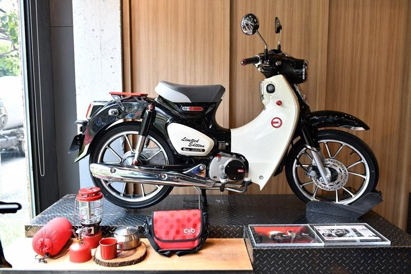 Honda Cub C125 Red Rising của G-Craft