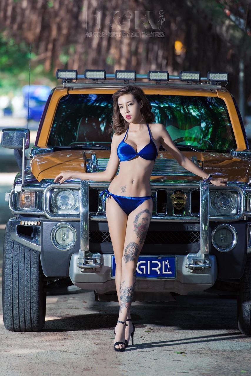 Mát mẻ cuối tuần với người đẹp 9x diện bikini khêu gợi - 8