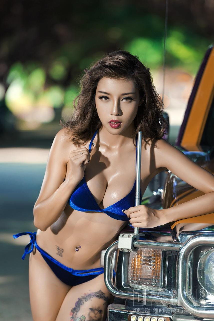 Mát mẻ cuối tuần với người đẹp 9x diện bikini khêu gợi - 4