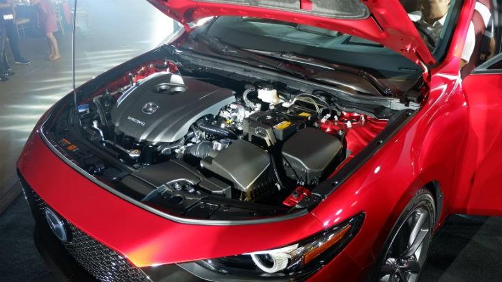 Động cơ SkyActiv-G của Mazda3 2019