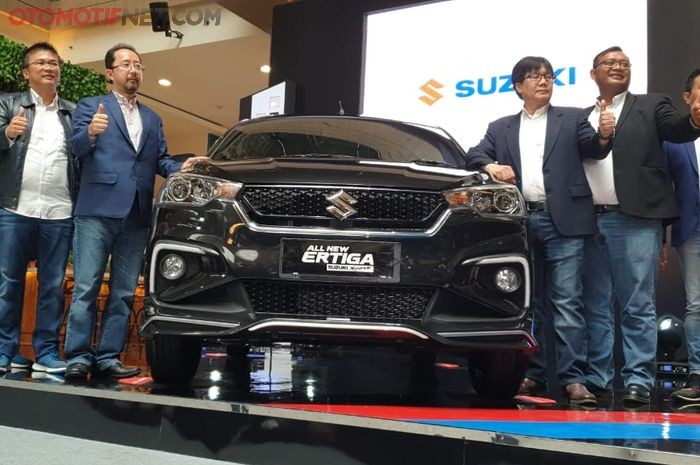 Suzuki Ertiga Suzuki Sport 2019 ra mắt tại thị trường Indonesia