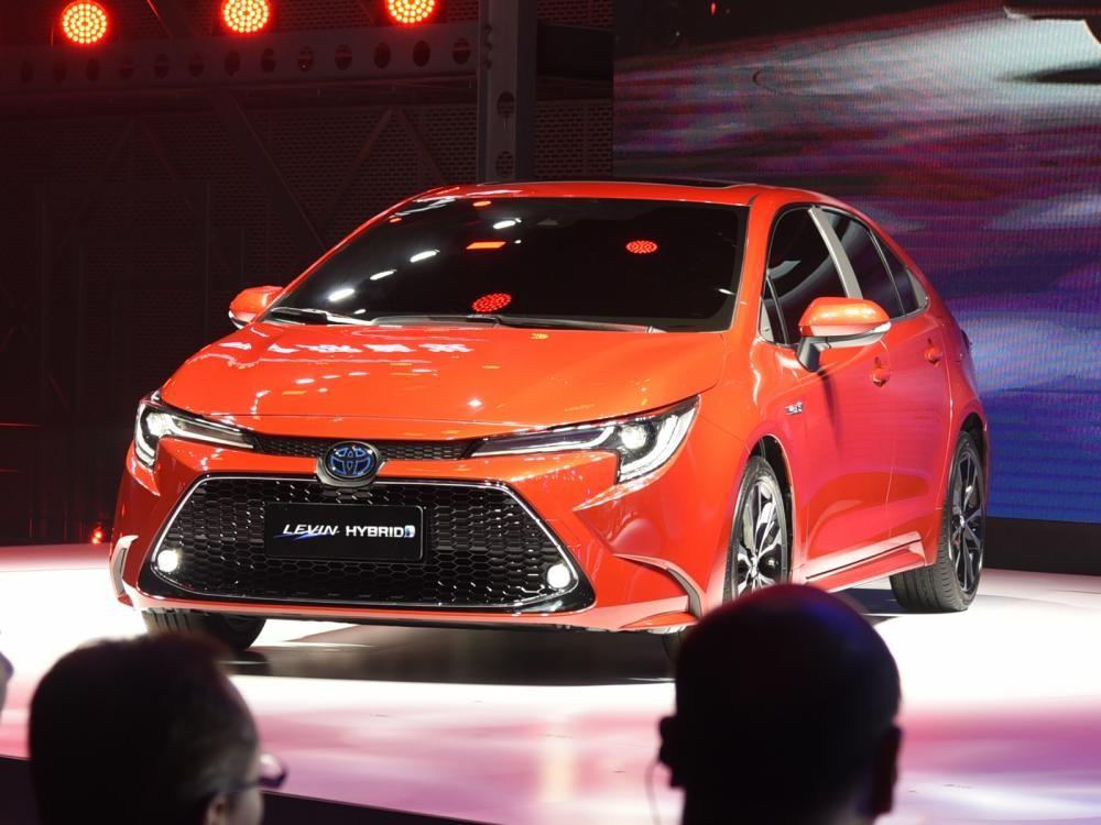 Toyota Levin Hybrid 2019 trong triển lãm Ô tô Quảng Châu 2018