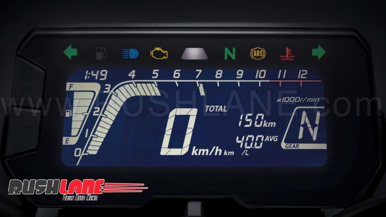 Đồng hồ xe Honda CB150R