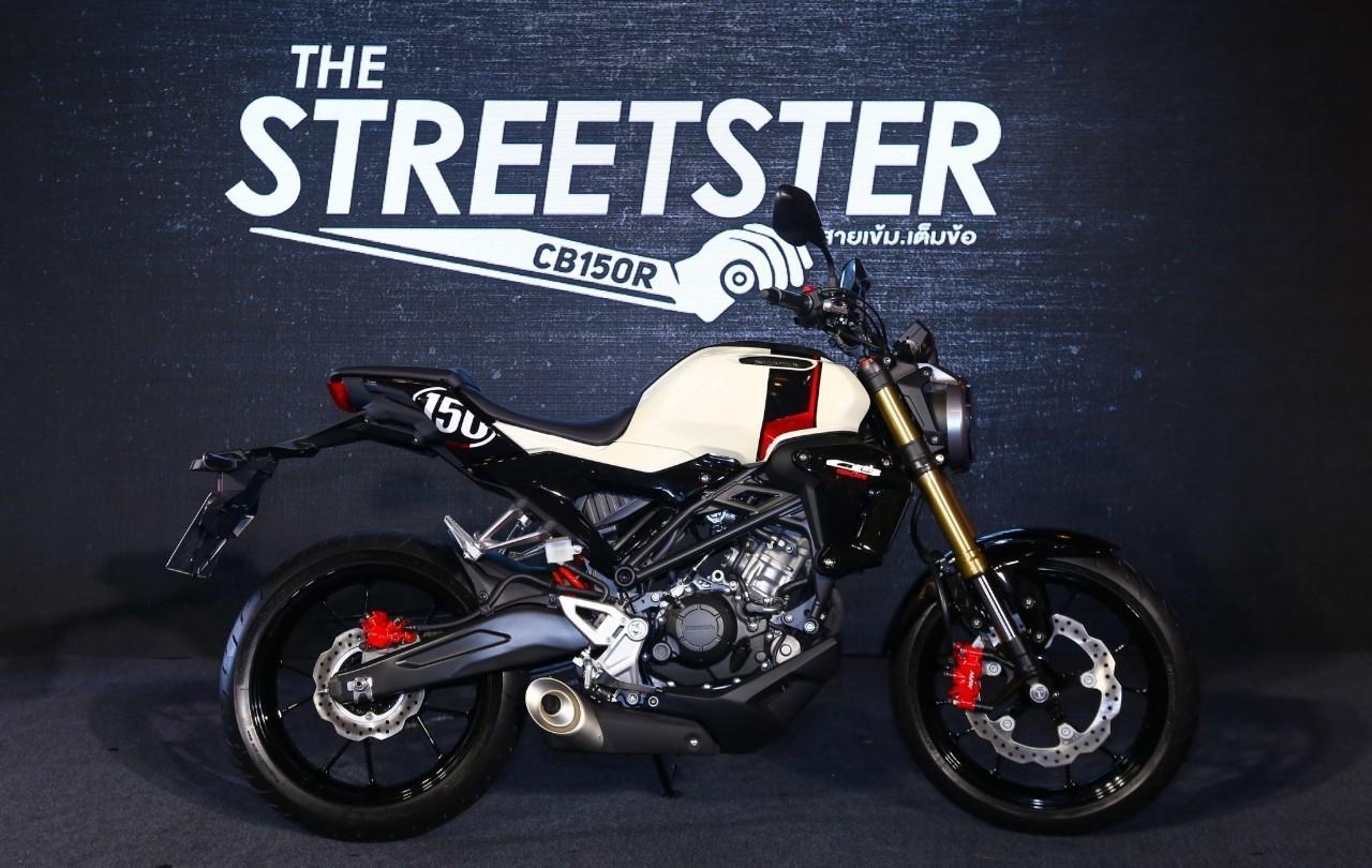 Honda CB150R Streetster vừa ra mắt tại Thái Lan