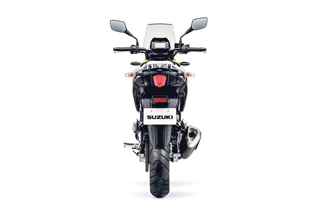Suzuki V-Strom mang kiểu dáng Adventure giống với đàn anh V-Strom 1000