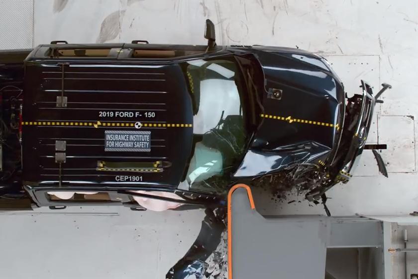 Ford F-150 2019 là một trong những mẫu có kết quả kiểm tra tốt nhất bởi IIHS