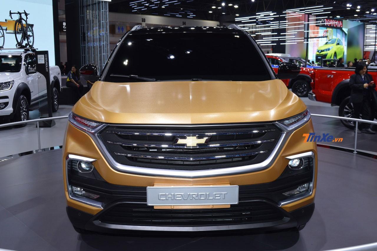 Cận cảnh thiết kế đầu xe của Chevrolet Captiva 2019