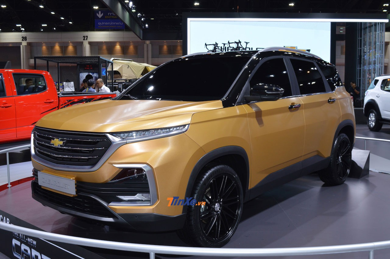 Chevrolet Captiva 2019 sử dụng động cơ xăng tăng áp, dung tích 1,5 lít giống Wuling Almaz