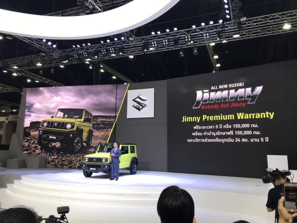 Suzuki Jimny 2019 ra mắt trong triển lãm xe Bangkok 2019