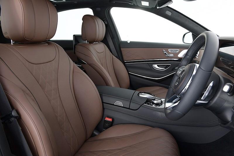 Nội thất sang trọng của Mercedes-Benz S560e