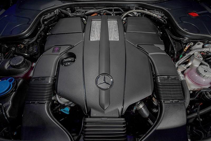 Xe ứng dụng công nghệ hệ động lực PHEV thế hệ thứ 3 của Mercedes-Benz
