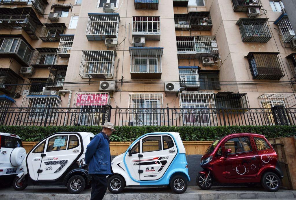 Ở Bắc Kinh, các tài xế khó có thể không mua một chiếc xe điện
