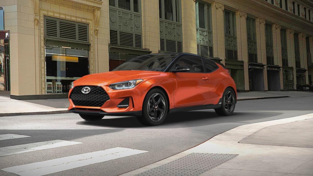 Hyundai Veloster 2019 có một diện mạo khỏe khoắn