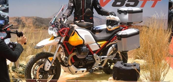 Moto Guzzi V85 TT chính thức ra mắt tại Thái Lan