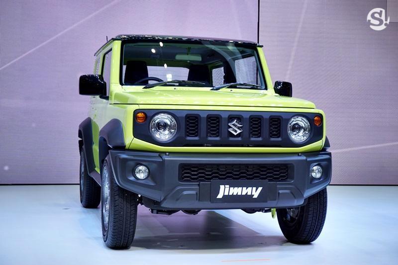 Thiết kế đầu xe của Suzuki Jimny 2019