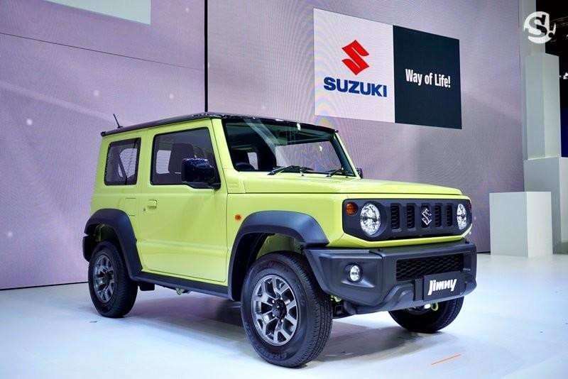 Số lượng xe Suzuki Jimny 2019 dành cho thị trường Thái Lan khá giới hạn