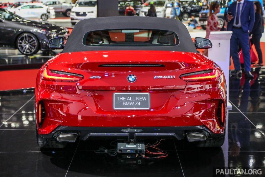 BMW Z4 M40i 2019 được trang bị động cơ xăng V6 mạnh mẽ