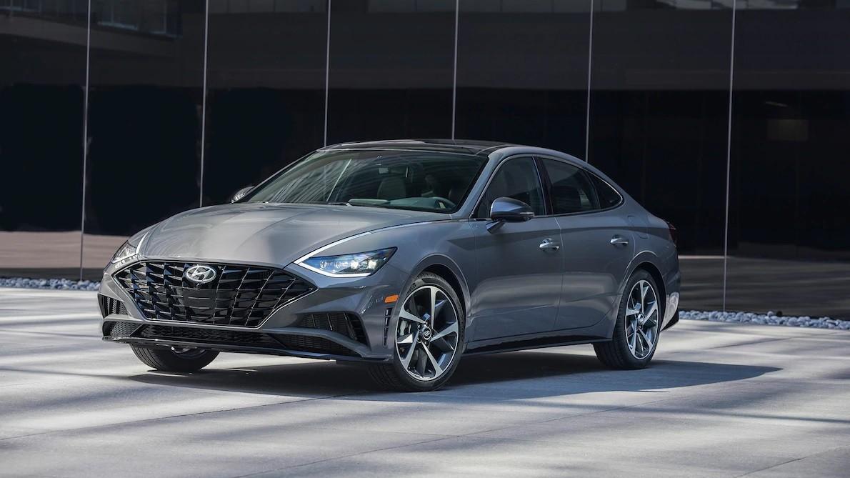 Hyundai Sonata 2020 sẽ được trưng bày trong triển lãm Ô tô New York 2019