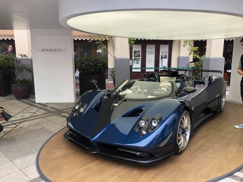 Pagani Zonda HP Barchetta có đúng 3 chiếc trên thế giới