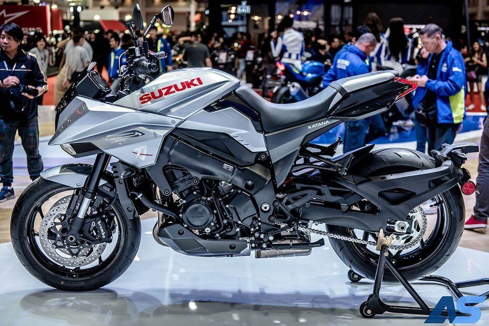Thiết kế và tên xe được dựa trên chiếc Suzuki Katana của những năm 1980