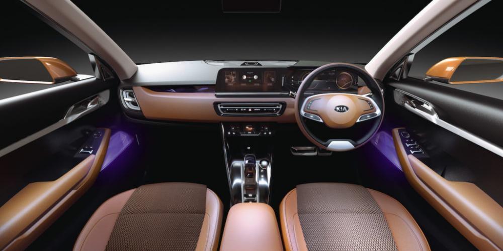 Nội thất bên trong Kia SP Concept