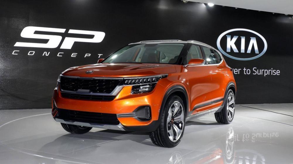 Kia SP Concept ra mắt trong triển lãm Auto Expo 2018