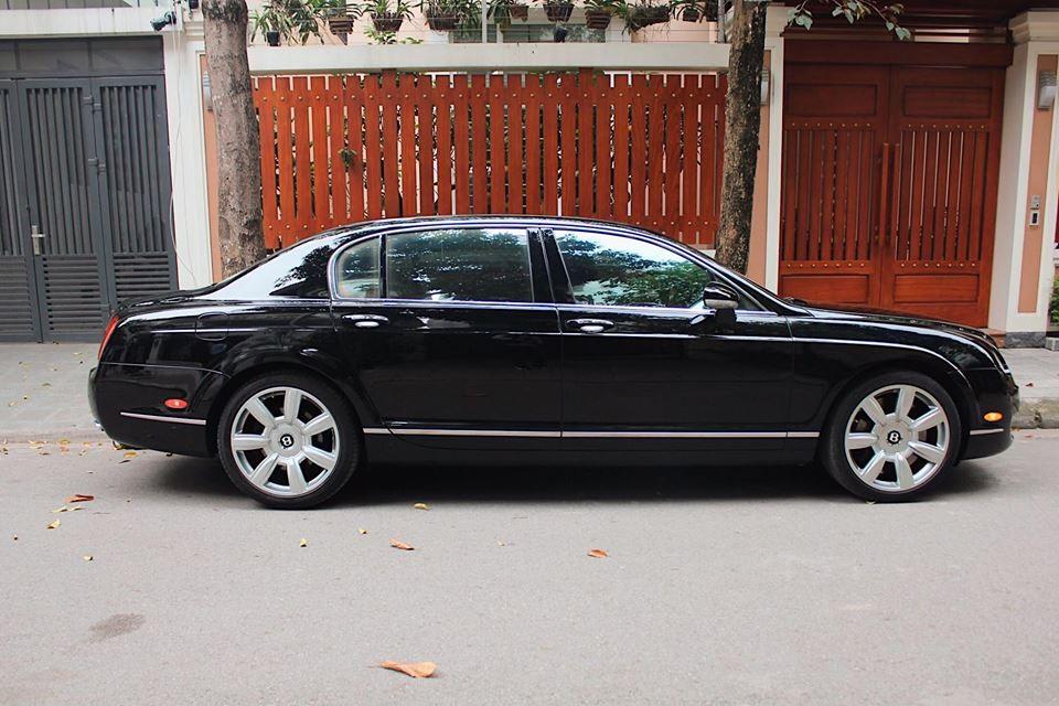 Chiếc Bentley Continental Flying Spur này được sản xuất từ năm 2008