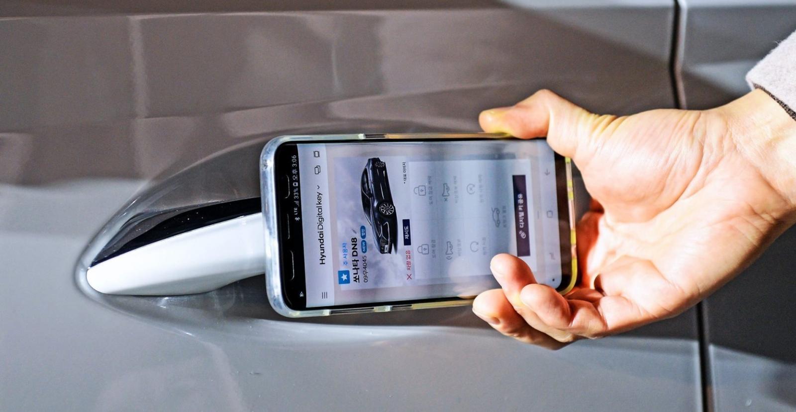 Digital Key là một trong những công nghệ mới nổi bật nhất của Hyundai Sonata 2020