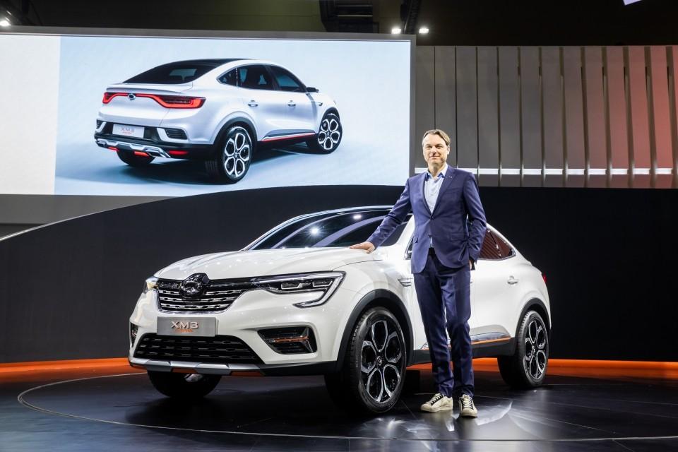 Renault Samsung XM3 Inspire Concept trình làng tại triển lãm Ô tô Seoul 2019