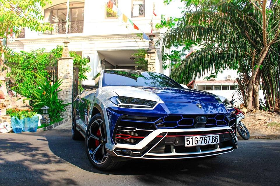 Bộ mâm mới trên chiếc siêu SUV Lamborghini Urus của Minh Nhựa có giá hơn 300 triệu đồng