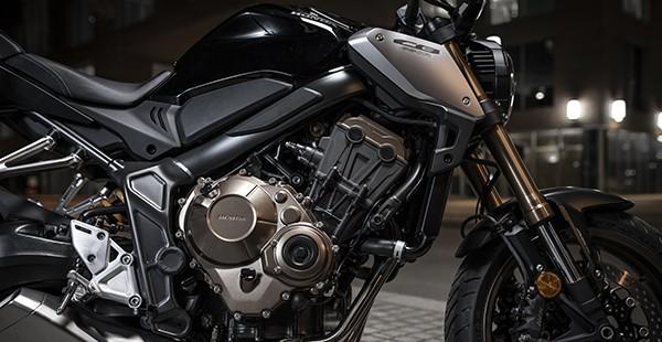 Động cơ 4 xylanh của Honda CB650R